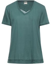 Massimo Alba T-shirts - Grün