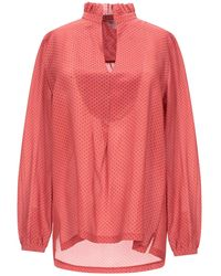 Her Shirt Blouse - Pink