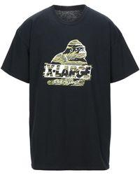X-Large Camiseta - Negro