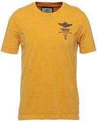 Aeronautica Militare T-shirt - Jaune