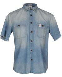 Franklin & Marshall Denim Shirt - Blue