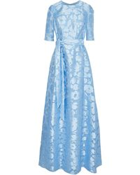 Lela Rose Vestido largo - Azul