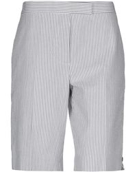 Thom Browne Bermuda Shorts - Gray