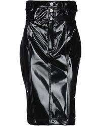 Unravel Project Midi Skirt - Black