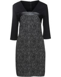 LUCKYLU  Milano Short Dress - Black