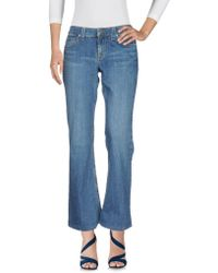 Juicy Couture Denim Trousers - Blue