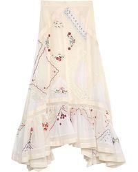 Tory Burch Long Skirt - White