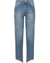 Lanvin Pantalon en jean - Bleu