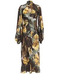 Erika Cavallini Semi Couture Long Dress - Green