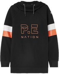 P.E Nation Sudadera - Negro