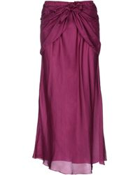 Mes Demoiselles Long Skirt - Purple