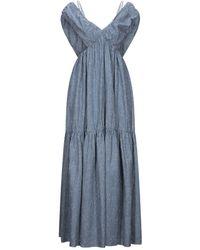 Frankie Morello Long Dress - Blue
