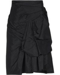 Marc Jacobs Knee Length Skirt - Black