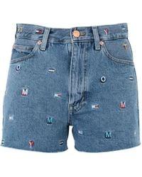 Tommy Hilfiger - Denim Shorts - Lyst