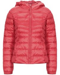 ONLY Synthetic Down Jacket - Red
