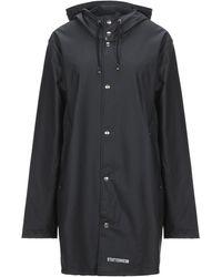 Stutterheim Overcoat - Black