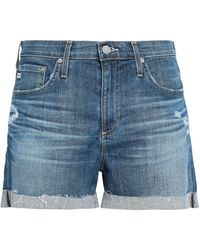 AG Jeans Shorts jeans - Blu