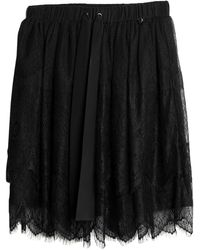 MY TWIN Twinset Knee Length Skirt - Black