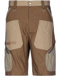 White Mountaineering Shorts & Bermuda Shorts - Natural