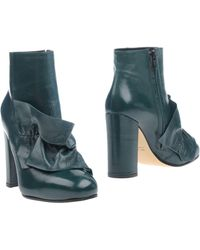 Suoli Ankle Boots - Green