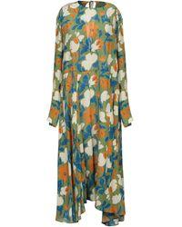 Erika Cavallini Semi Couture 3/4 Length Dress - Green