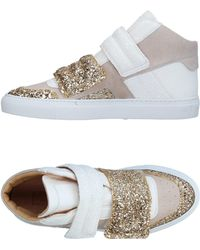 MM6 by Maison Martin Margiela - Sneakers & Tennis montantes - Lyst