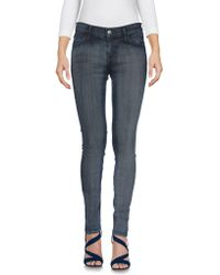f0a4d8bb2519 Koral Jeans High Rise Skinny in Pebble Coated Grey in Gray - Lyst
