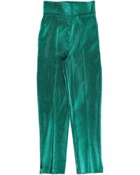 Elisabetta Franchi Casual Trousers - Green