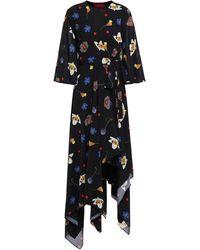 Solace London Robe mi-longue - Noir
