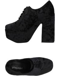 Jeffrey Campbell Lace-up Shoe - Black