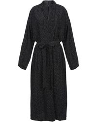 Eileen Fisher Overcoat - Black