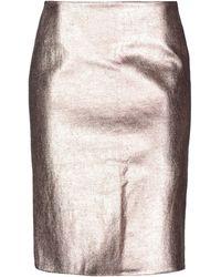 Cedric Charlier Midi Skirt - Multicolour