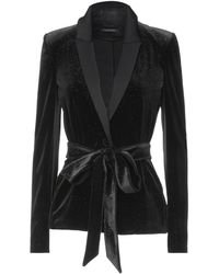 Patrizia Pepe Suit Jacket - Black