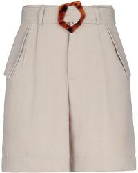 WEILI ZHENG Shorts - Natural