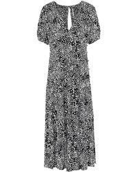 Free People 3/4 Length Dress - Black