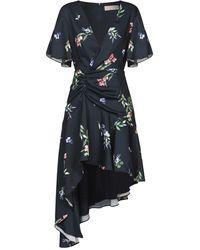 Keepsake Short Dress - Blue