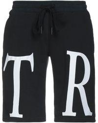 True Religion Bermuda Shorts - Black