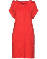Majestic Filatures Vestito corto - Rosso