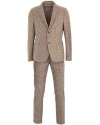 Daniele Alessandrini Homme Suit - Natural
