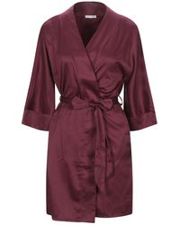 Verdissima Dressing Gown - Purple