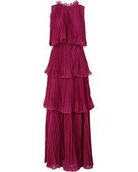 True Decadence Long Dress - Purple
