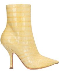 Y. Project Ankle Boots - Yellow