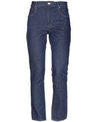 Étoile Isabel Marant Pantalon en jean - Bleu