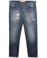 26.7 Twentysixseven Denim Trousers - Blue