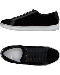 Saint Laurent Low Sneakers & Tennisschuhe - Schwarz