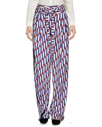 Marc Jacobs Casual Trousers - Blue
