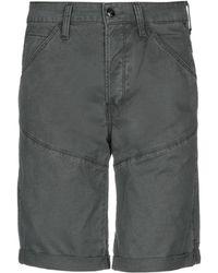 1ab1e8c1d G-Star RAW Bermuda Shorts in Green for Men - Lyst