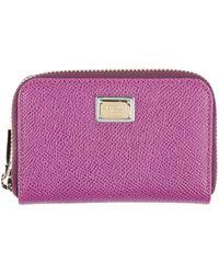 Dolce & Gabbana Wallet - Purple
