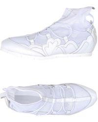 Emporio Armani High-tops & Trainers - White