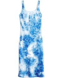 TOPSHOP 3/4 Length Dress - Blue